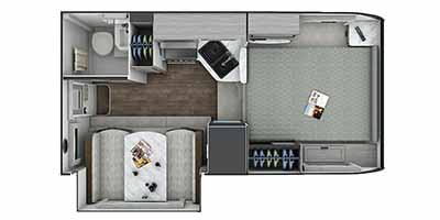 Lance 855S floorplan