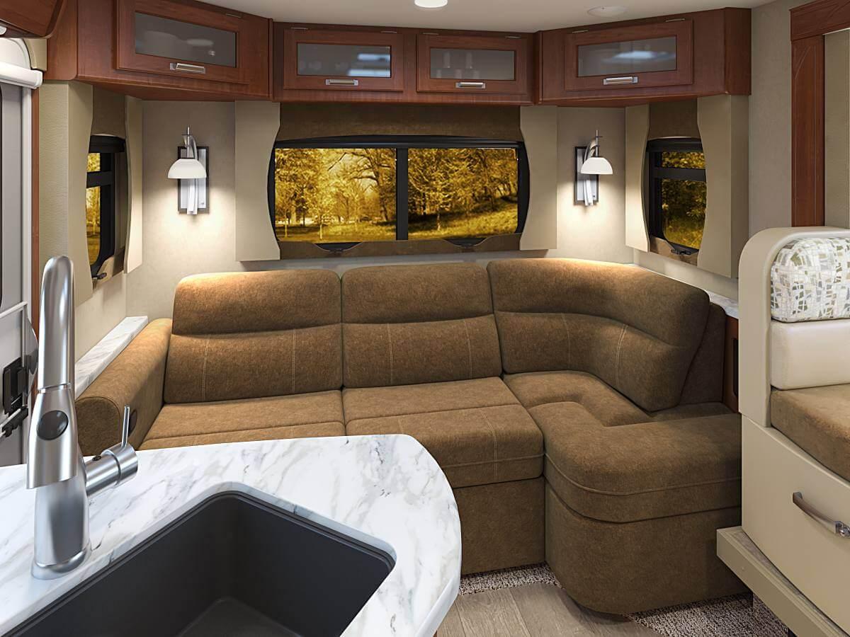 Lance 2375 - Optional Rear Lounge